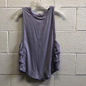 Lululemon lavender tank, sz 8, 63556